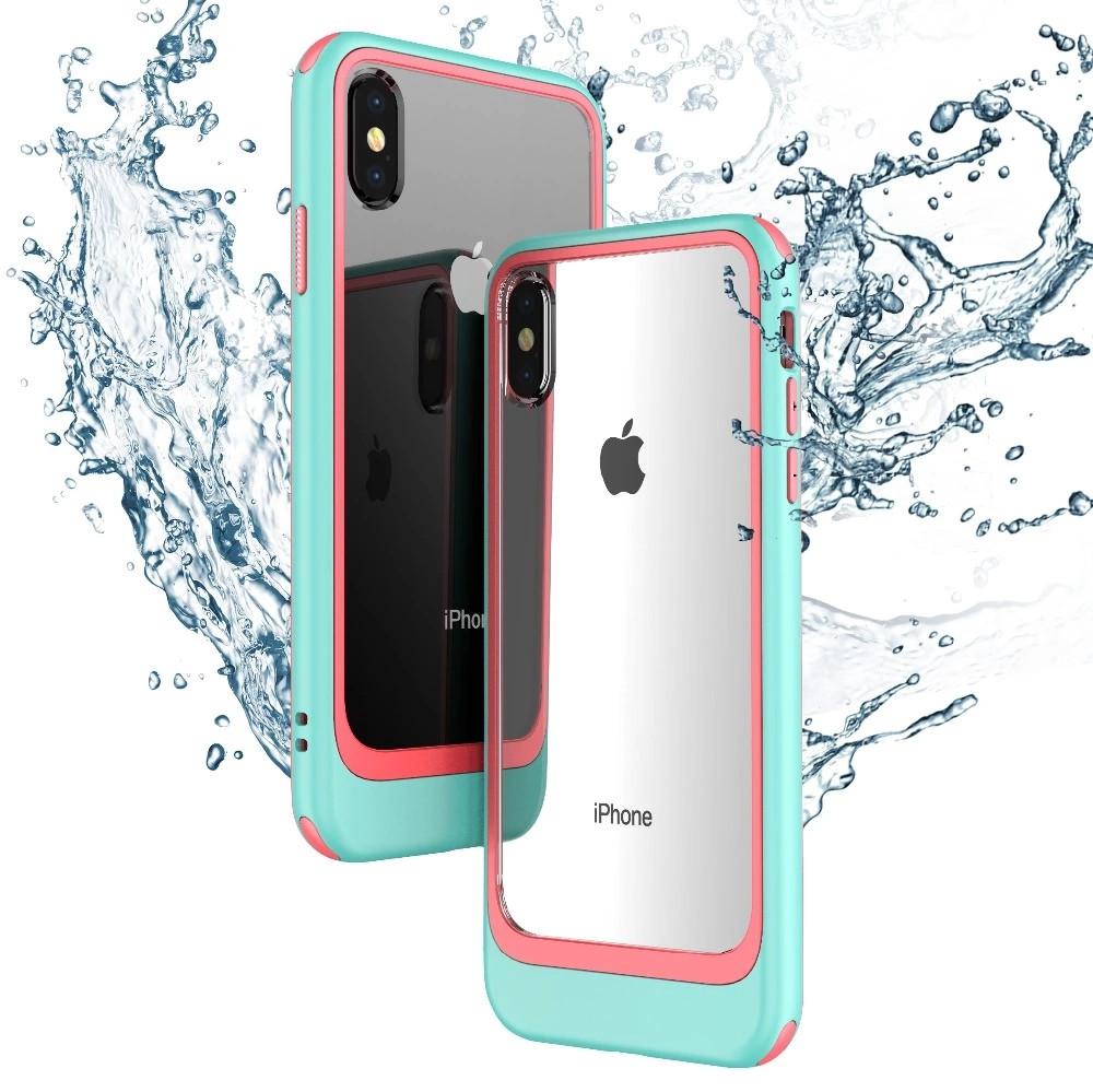 iPhone X 6 6s 7 8 Plus Case 2 in 1 PC