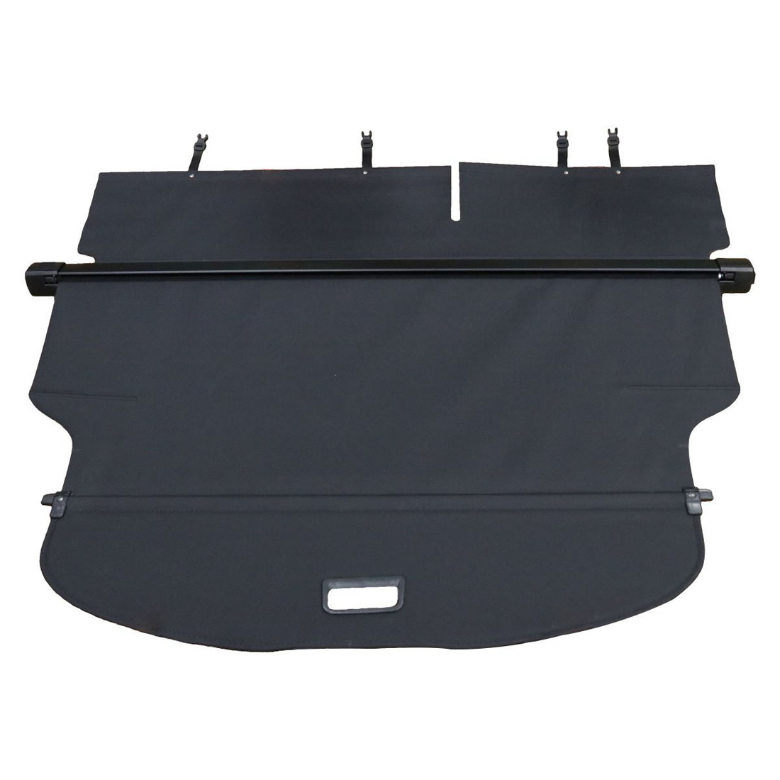 retractable rear truck cargo cover tray shade shield for jeep cherokee 2014 2017 9290202368416. Black Bedroom Furniture Sets. Home Design Ideas