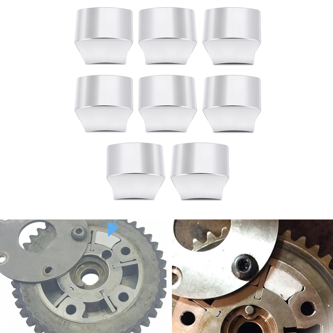 3 Valve Engine Timing Chain Cam Phaser Lock Out Kit For Lincoln Ford 5.4L 4.6L