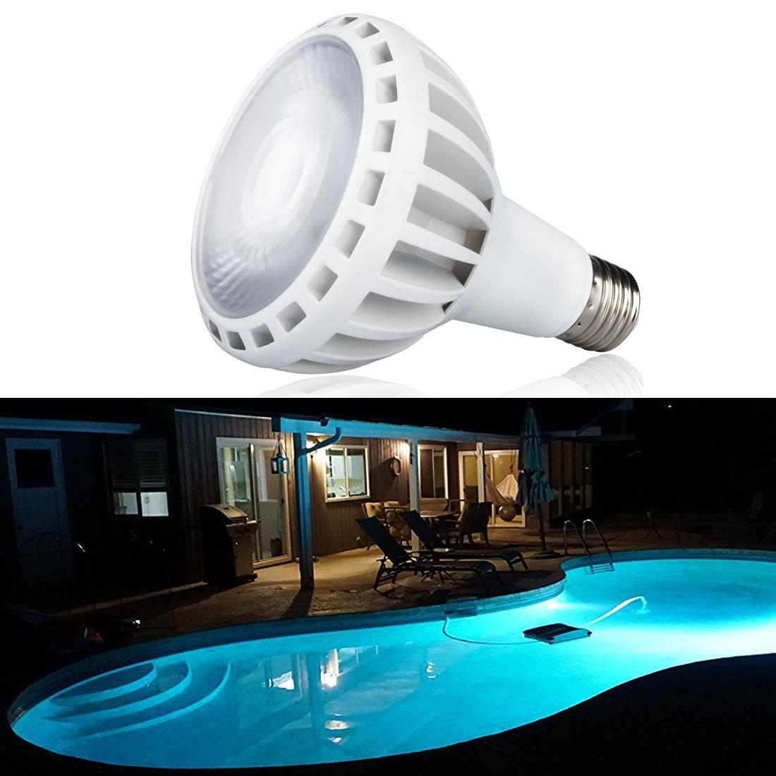 120V 45W E26 Base Swimming Pool Light Led Bulb Underwater For Pentair Hayward #y