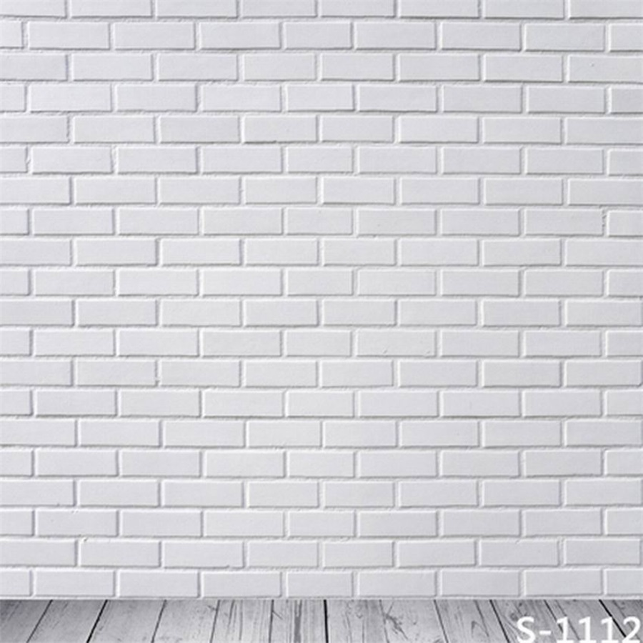Details About 6x6ft Pure White Brick Backdrop Wall Mount Vinyl Photography Background Studio