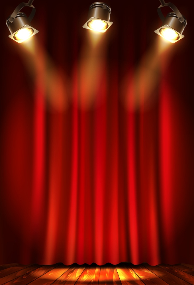 Red Curtain Backdrop Prom 5x7ft Photography Studio Prop