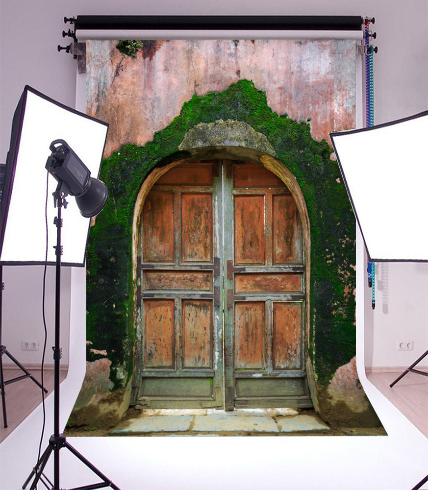 3x5FT Abandoned House Background Studio Shabby Door Props Backdrop Photography & 3x5FT Abandoned House Background Studio Shabby Door Props Backdrop ...