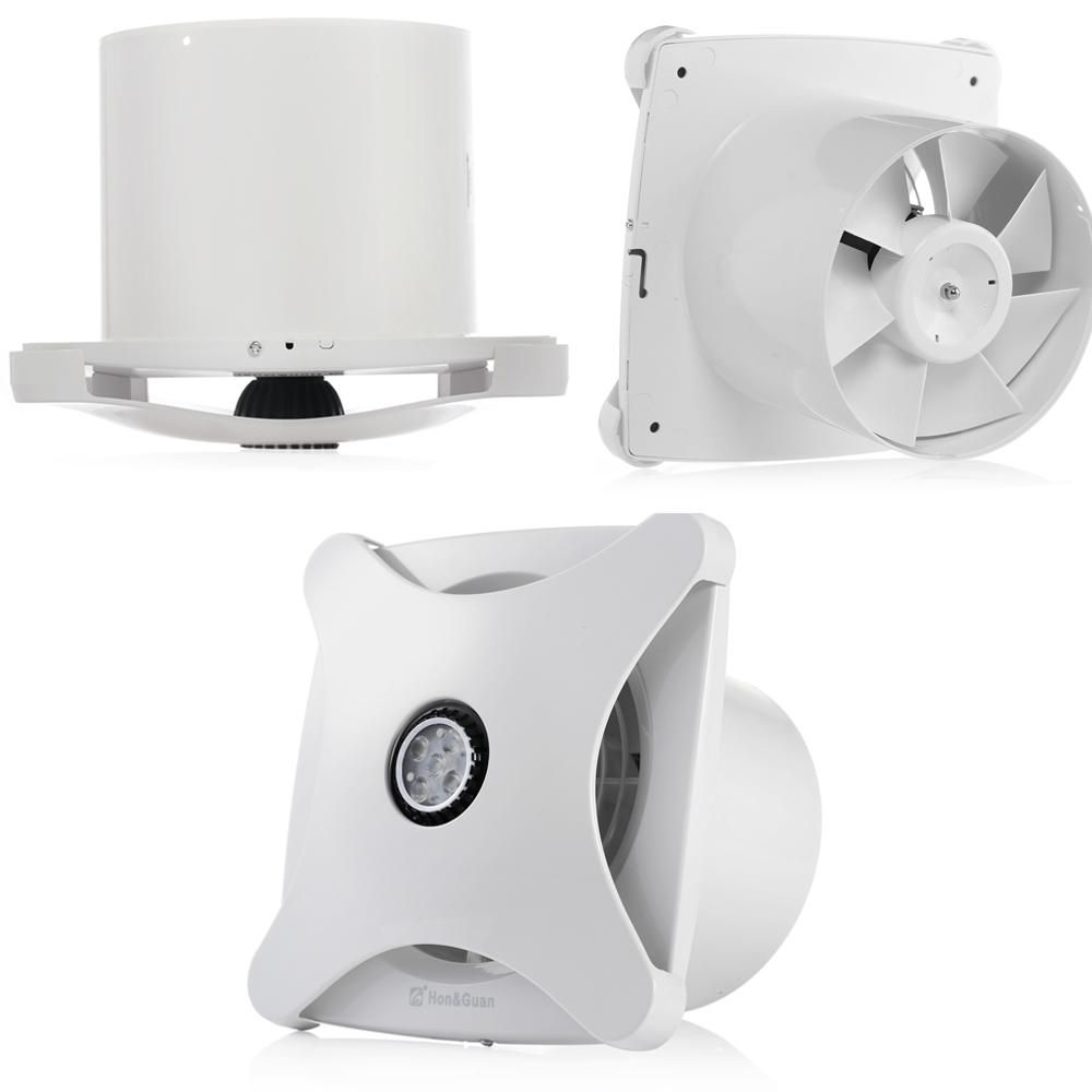 Bathroom Exhaust Fans Wall Mount : Inch mm ventialting wall mounted bathroom ceiling