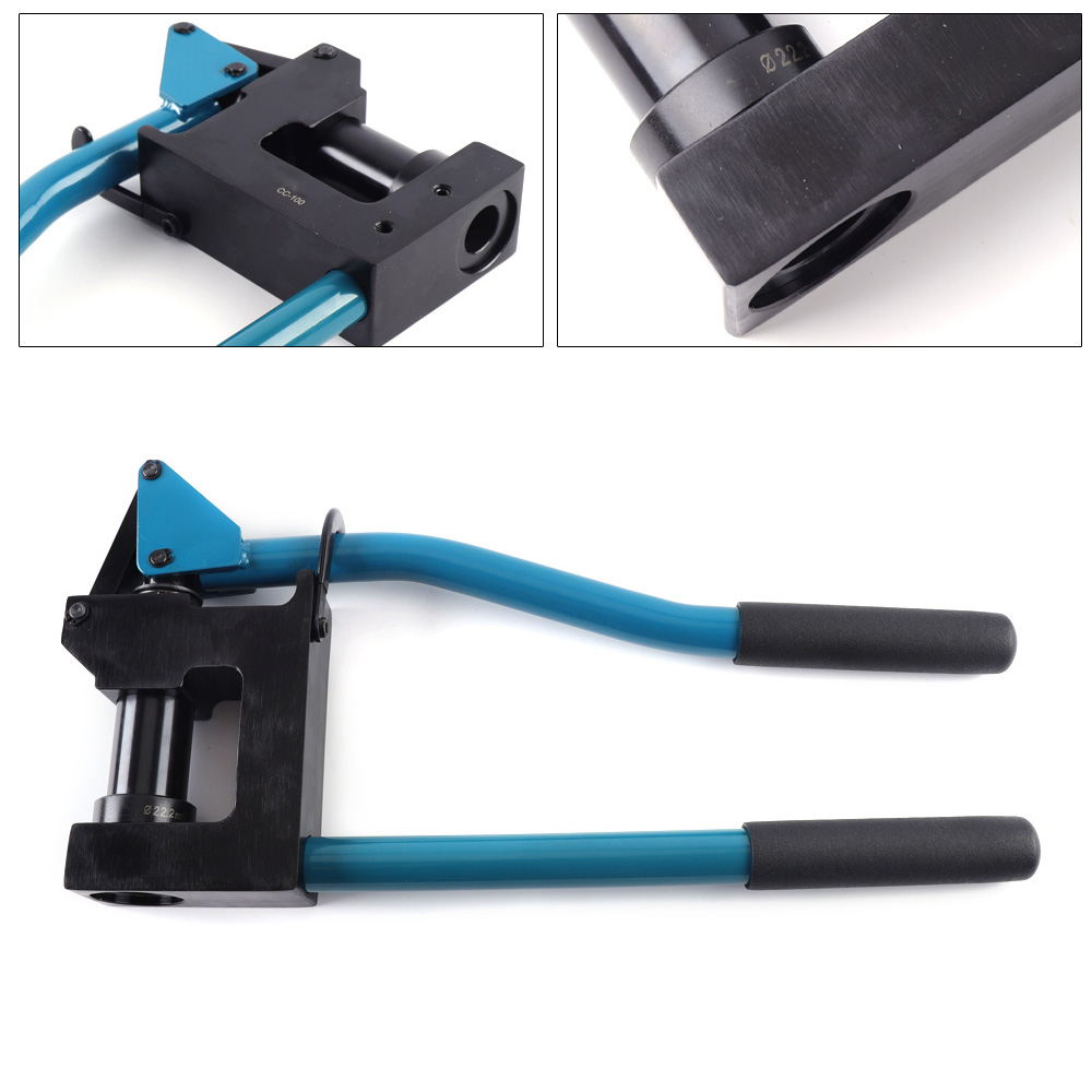 """Metal Stud Punch Manual Lever Punch Press Hole Punching 7//8/"""" /& 1-11//32/"""" Diameter"""