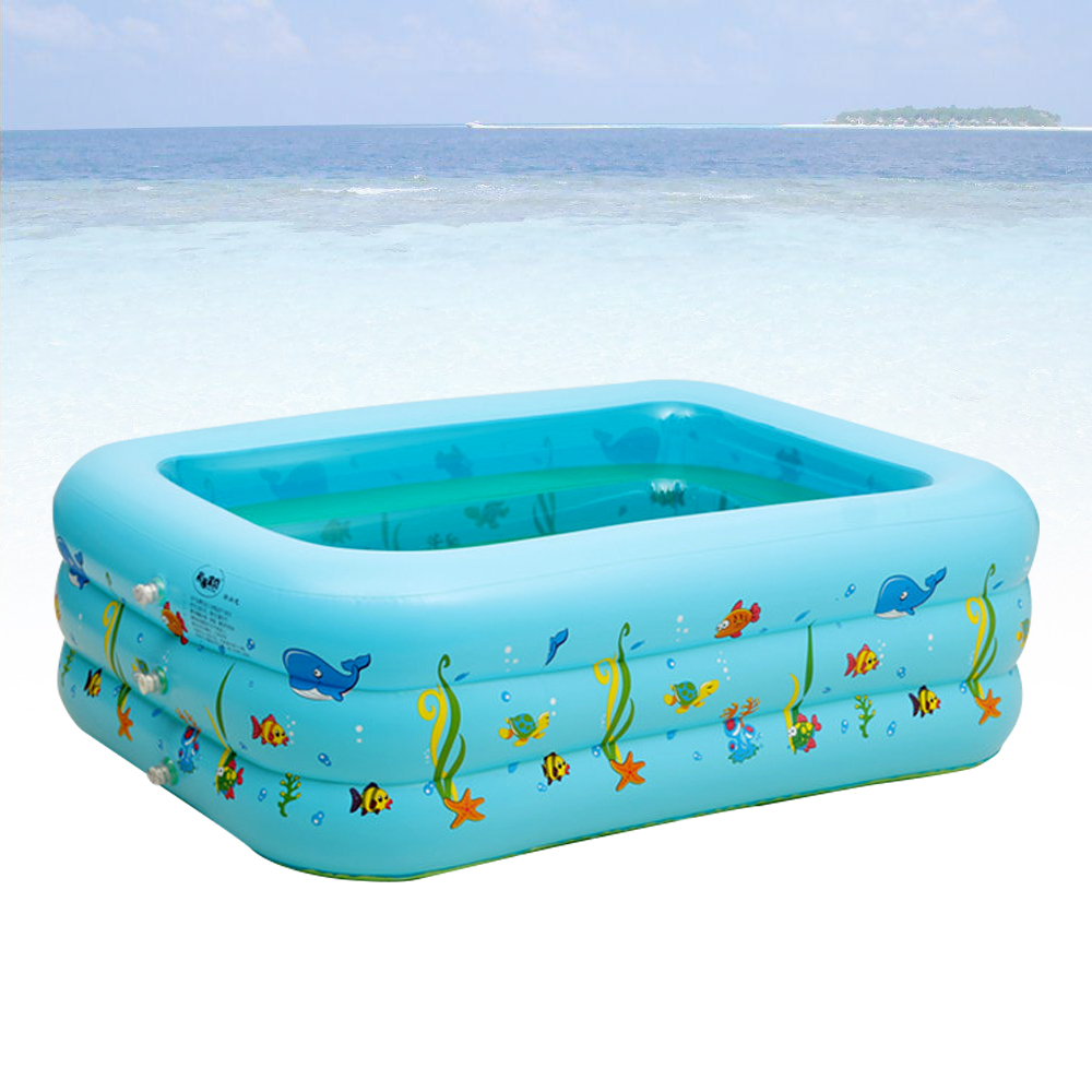 1.3m Portable Baby/Kid/Toddler Inflatable Bathtub Newborn Thick ...