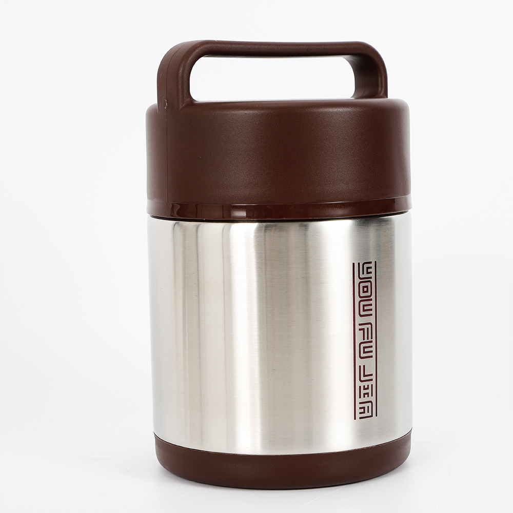 Vacuum Insulated Lunch Box 3 Tier Jar Hot Thermos Food