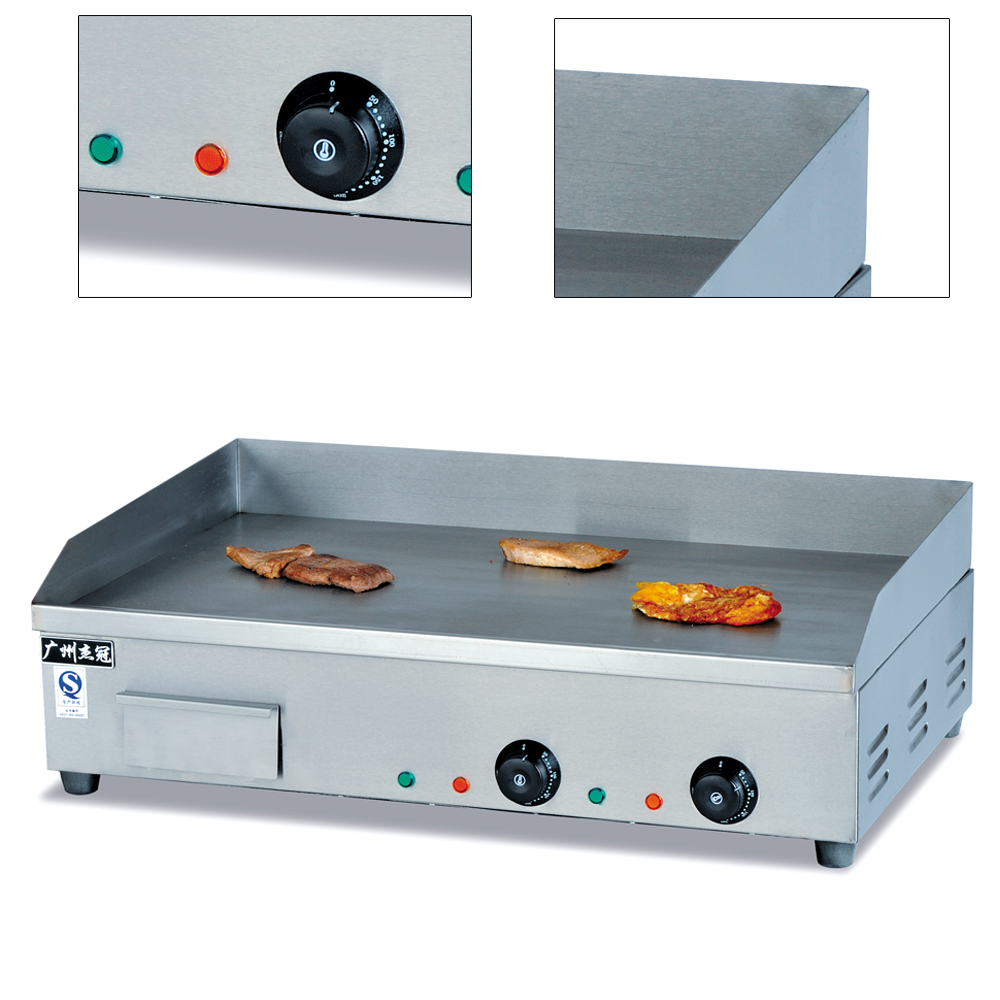 4.4KW Electric Commercial Countertop Griddle Stove Cooktop BBQ Grill ...
