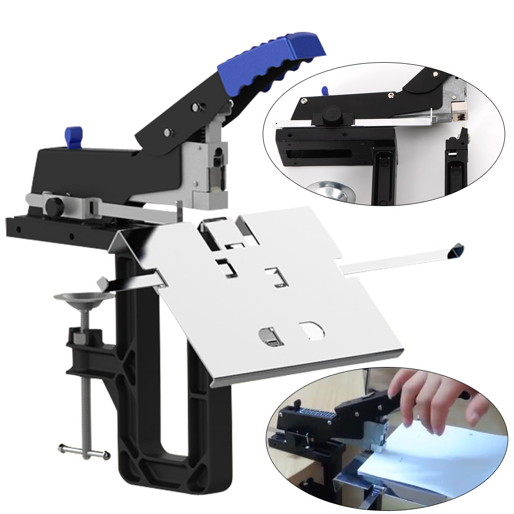 New Manual Dual Flat And Saddle Stapler Heavy Duty Binding