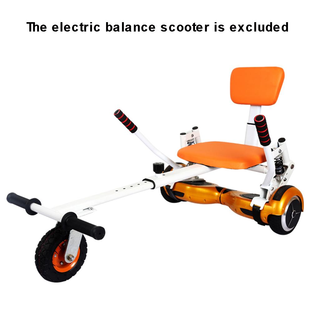 gokart hoverseat hoverkart sitz f r hoverboard e scooter. Black Bedroom Furniture Sets. Home Design Ideas