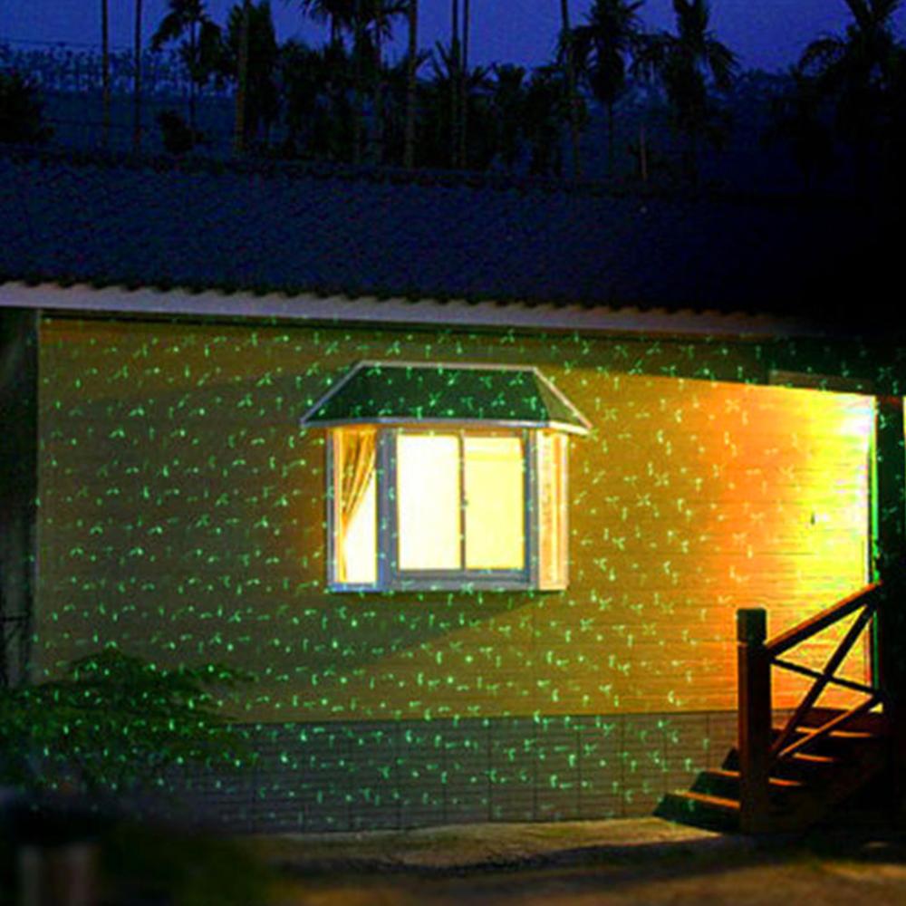 Outdoor Christmas Lights Garden Decorations Xmas Laser Projector ...