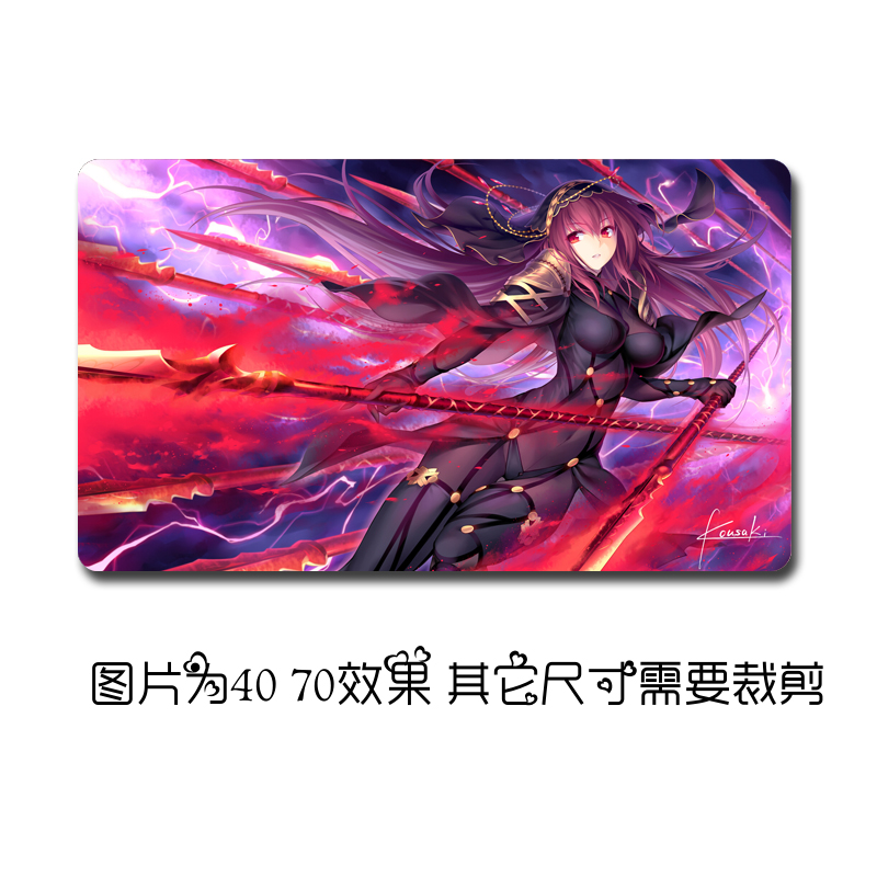 "27/"" Hot Japanese Anime RWBY Mouse Pad Play mat GAME Mousepad 40*70cm"