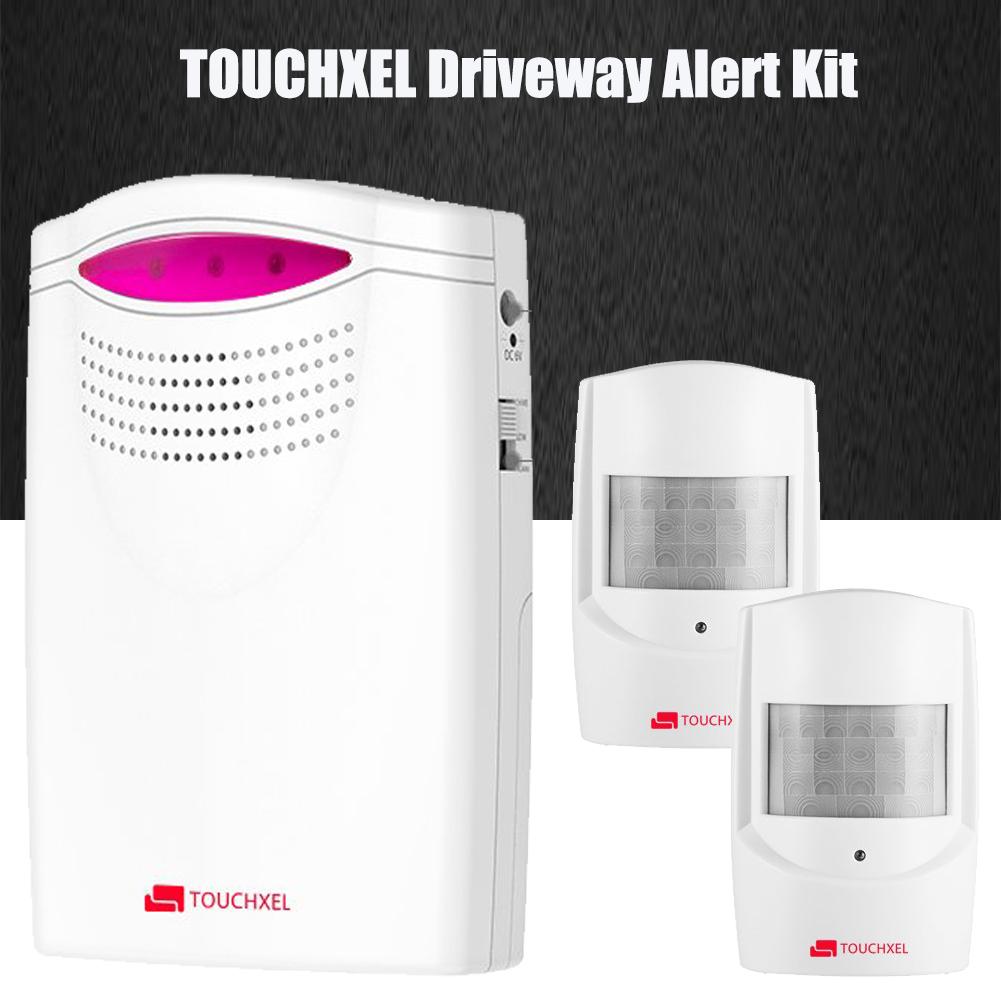 TOUCHXEL Wireless Alarm System Home Security PIR Motion Sensor Infrared Alert UK