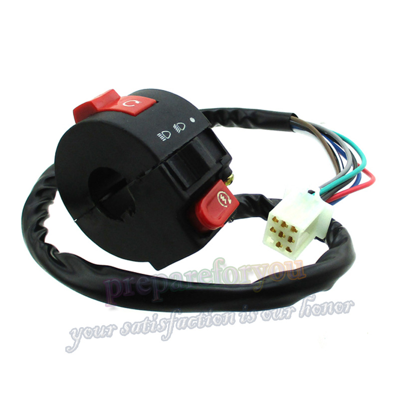 Start Light Kill Choke Switch For 50//70//90// 110cc ATV Kazuma Taotao Coolster Qua