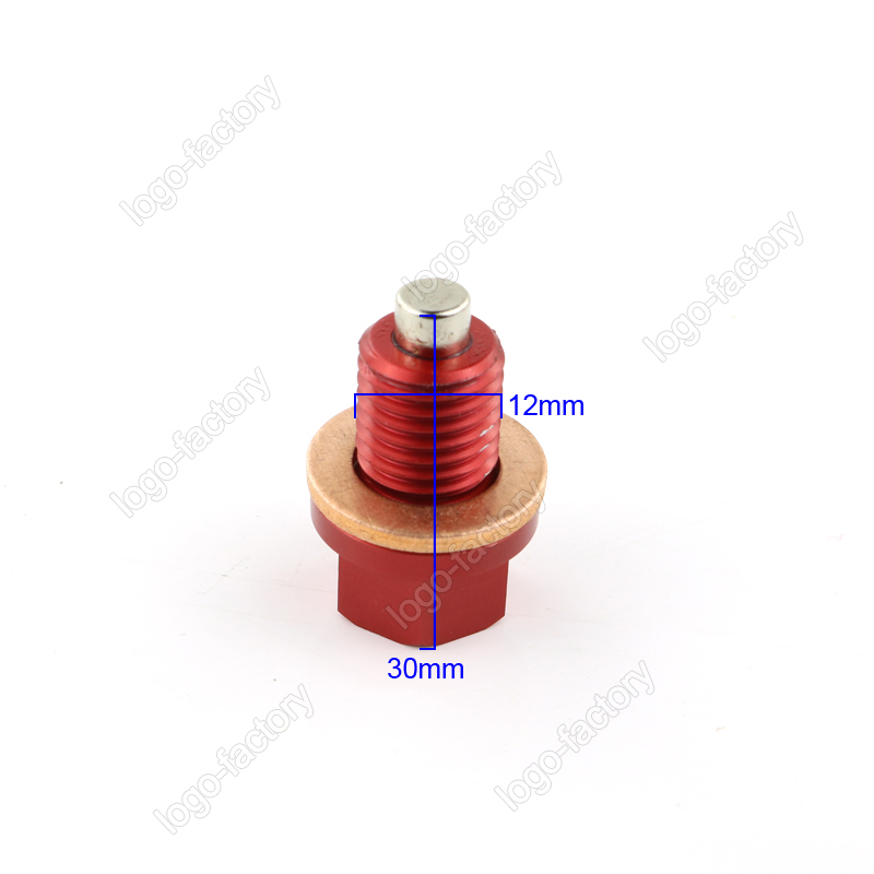 Magnetic Oil Drain Plug M12x1.5 For M12 x 1.50mm HONDA XR400 XR400R XR50R XR600R