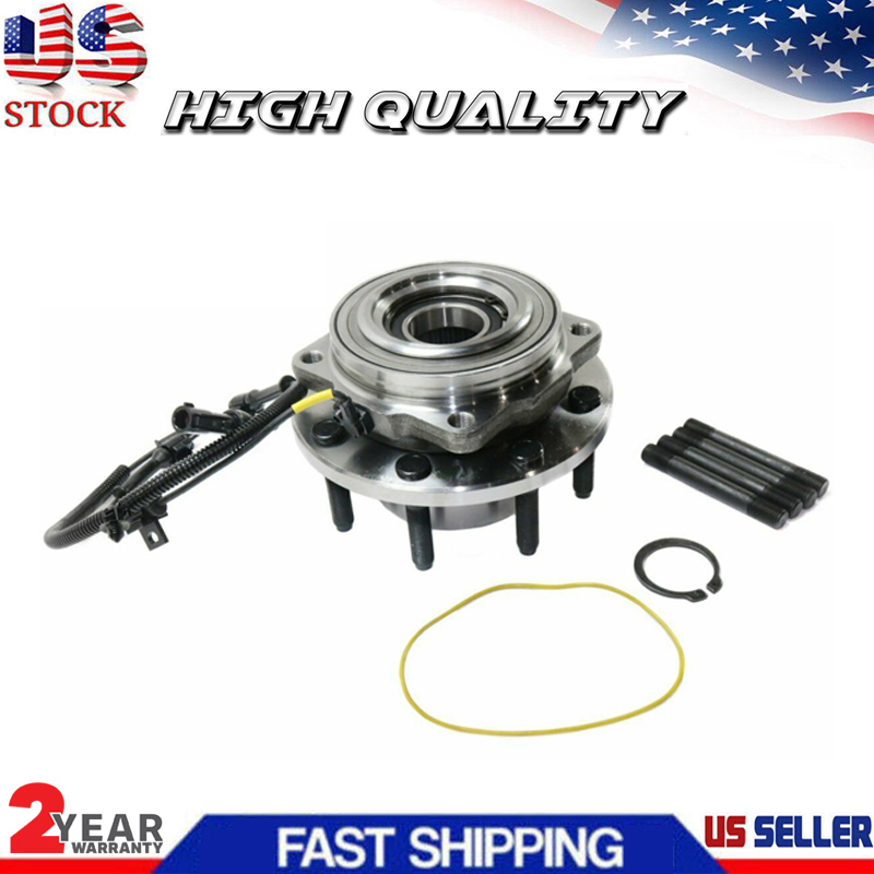 2 Pair New Front Wheel Hub Bearing For 99-04 Ford Super Duty Pickup 4WD 4x4