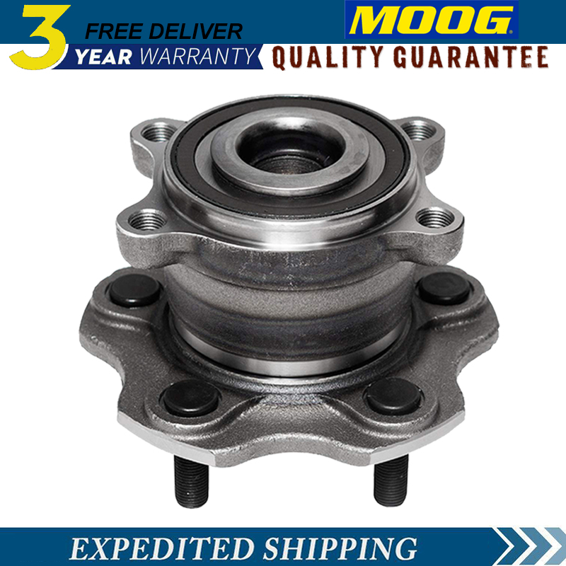 Left and Right 2009 fits Nissan Maxima Front Wheel Bearing and Hub Assembly Included with Two Years Warranty Note: FWD - Two Bearings