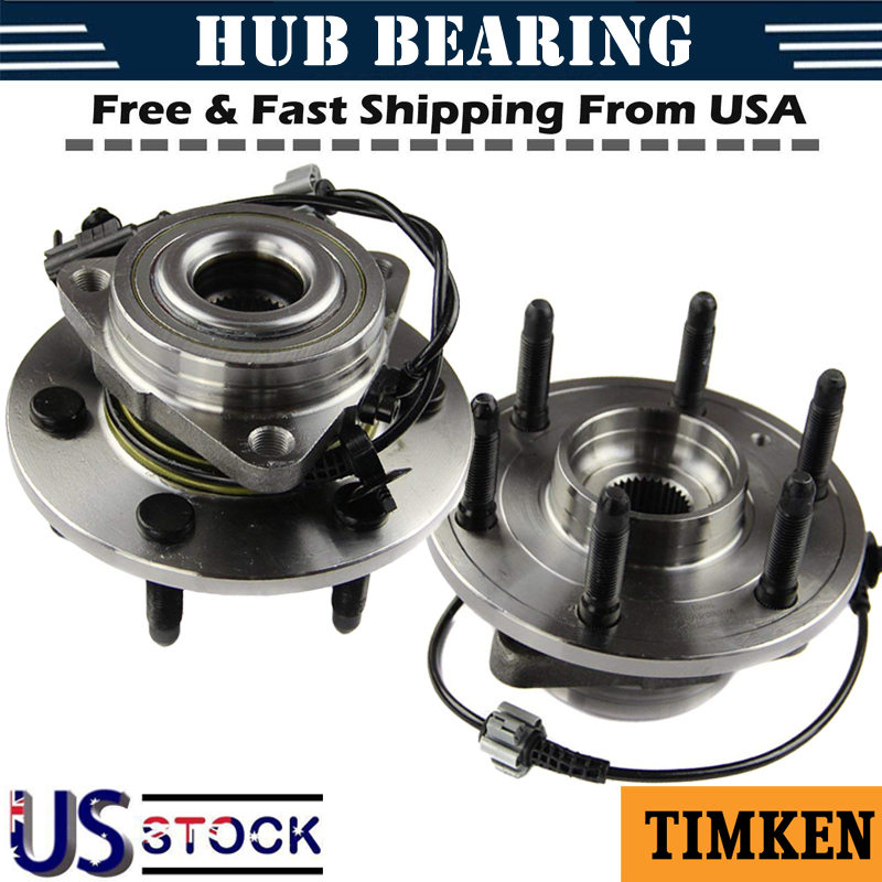 Timken Front Wheel Bearing And Hub Assembly For Chevrolet