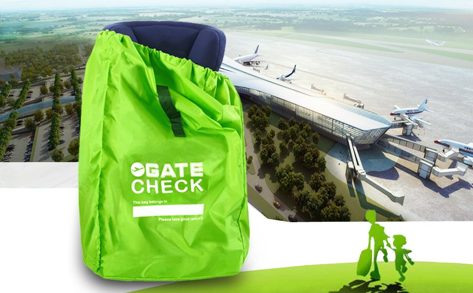 If You Are Worried About Your Childs Car Seat Getting Ruined During Flight Travels Get The Robbor Airport Gate Check Bag Protect