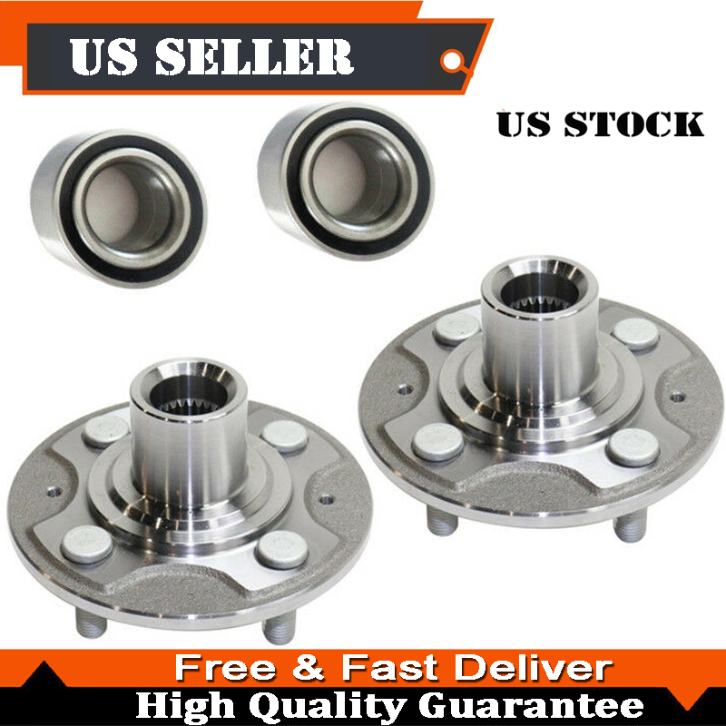 FOR 2001-2005 ACURA EL FRONT WHEEL HUB AND BEARING KIT NEW