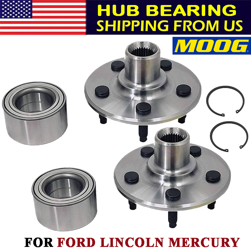 Rear Wheel Hub /& Bearing Left or Right for Ford Lincoln Mercury