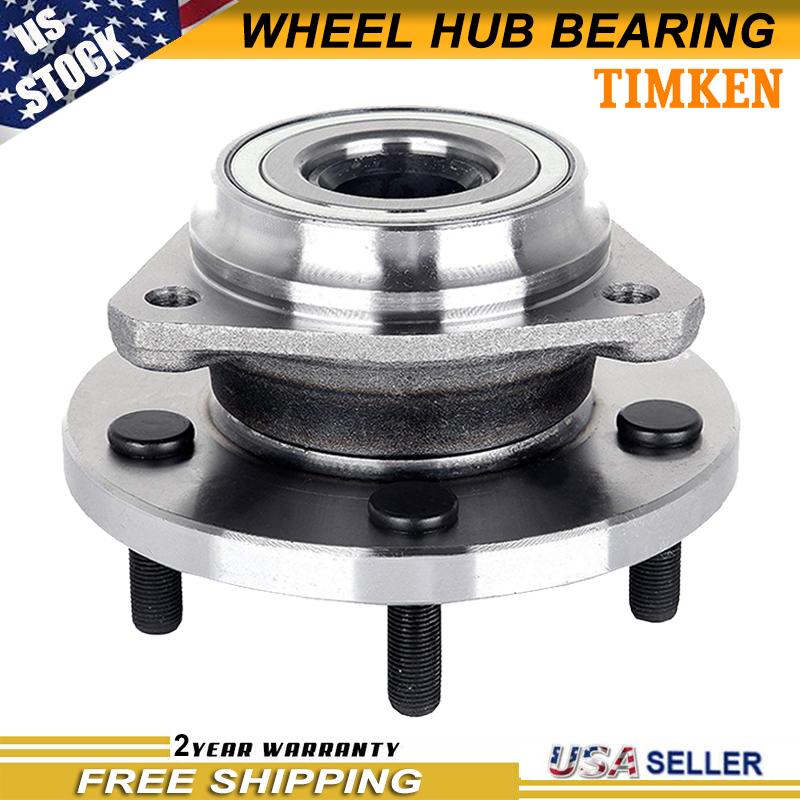 TRQ Front Wheel Hubs /& Bearings Pair Set of 2 for 99-04 Grand Cherokee 5 Lug