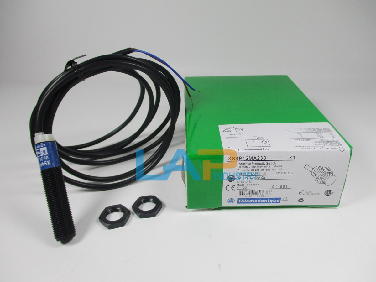 New Telemecanique XS4P12MA230 Inductive Proximity Switch ...