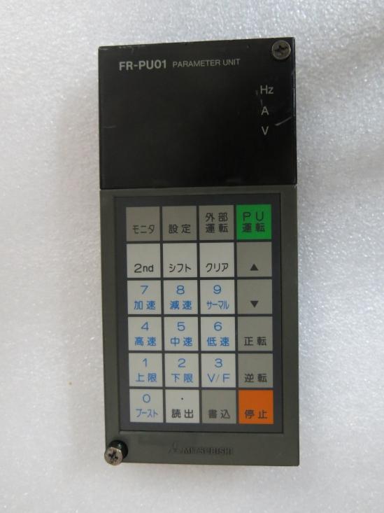 1PC Used Mitsubishi FR-PU01 Operation Panel Module Tested