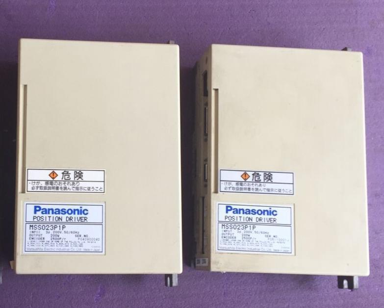 **USED Panasonic Servo Driver MSS023P1P with 60days warranty