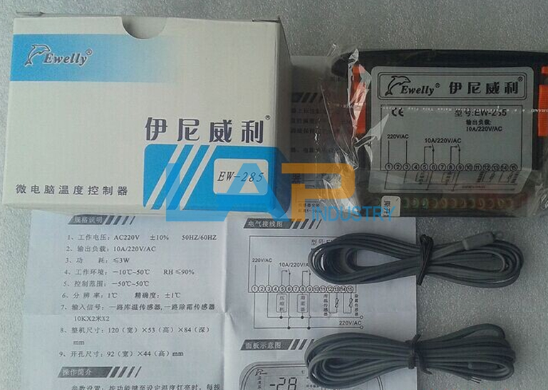 1PC New For Ewelly Temperature Controller EW-285 EW285 858590152124 ...