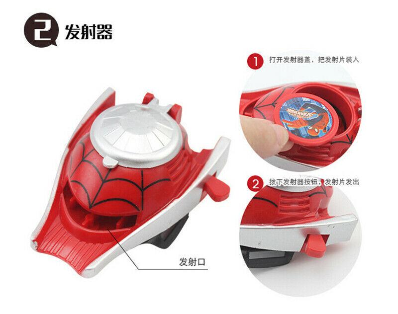 Superhero Handschuhwerfer Spiderman Spiderman Cosplay Handschuhe Spielzeuge Gift