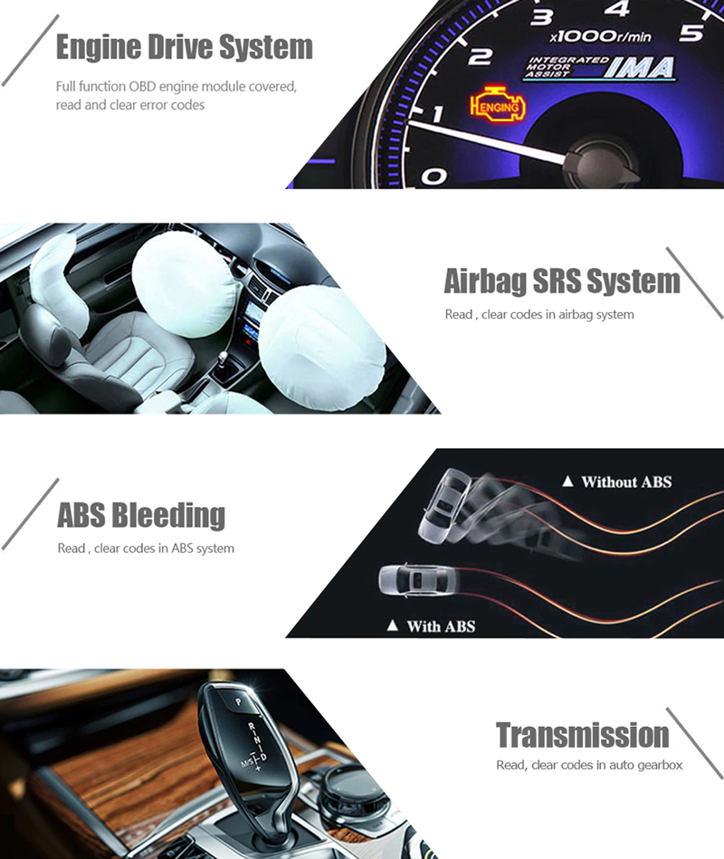 Details about Ancel Full System ABS,Airbag Car Engine Scanner EPB,Oil Reset  Diagnostic Tool UK