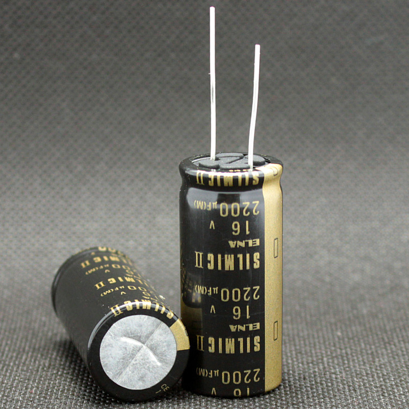 470uF @ 16V Elna SILMIC II Audio Grade Radial Electrolytic Capacitor