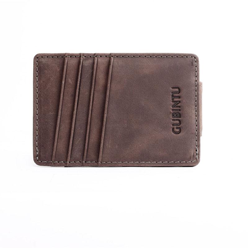 Slim-Men-s-Leather-Magnet-Wallet-Credit-Card-ID-Holder-Money-Clip-Front-Pocket thumbnail 13