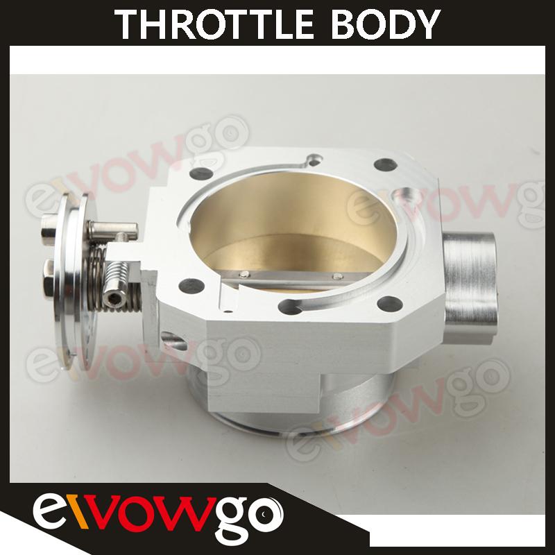 Billet Aluminum 70mm Throttle Body For Honda Civic SI CRX