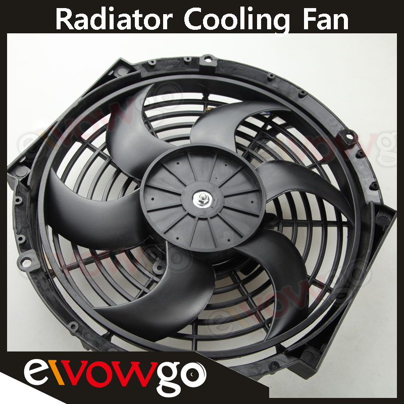 Universal 10 U0026quot  Radiator Electric Cooling Fan Curved S