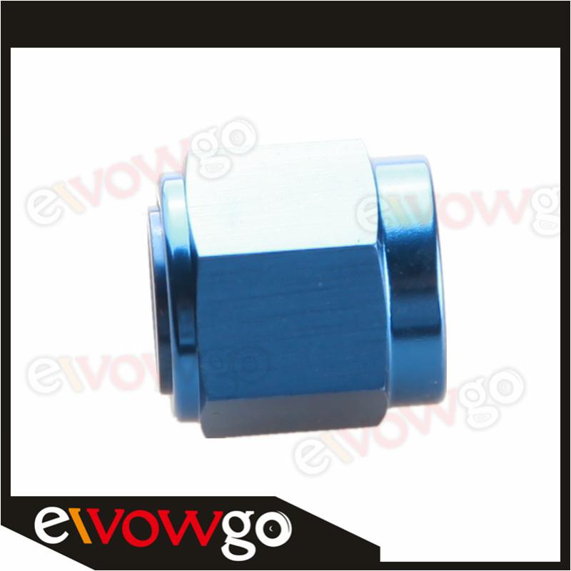 4AN 4AN AN4 an-4 Shut Off Valve Fitting Aluminum Black//Blue
