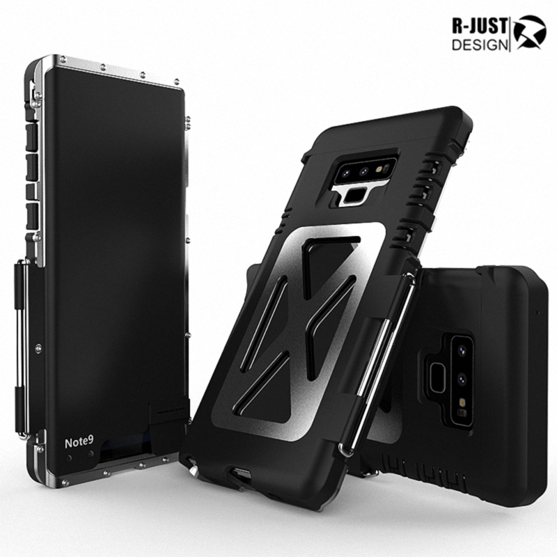 Details about For Samsung Galaxy S9 S8 Note 9 ARMOR KING Shockproof  Aluminum Flip Case Cover