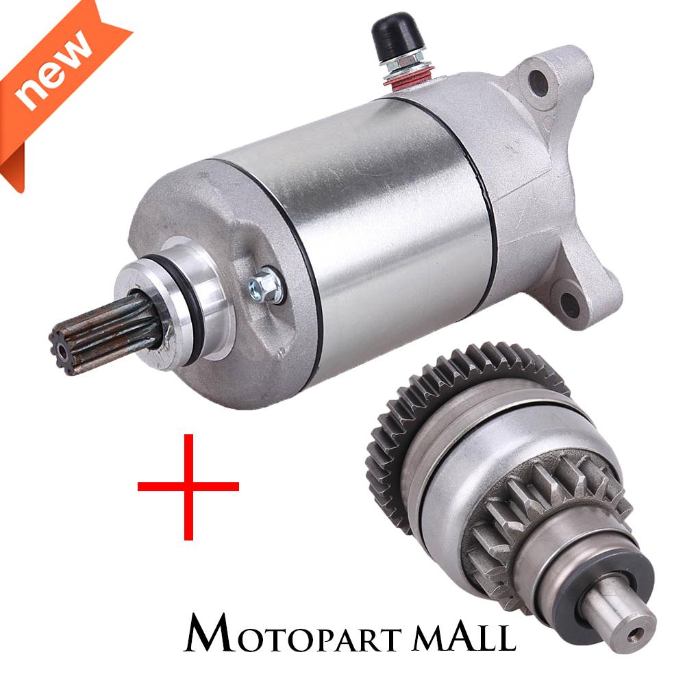 New 12 Volt Starter Fits Polaris Sportsman 400 HO 4x4 455cc 2012 2013 2014 ATV