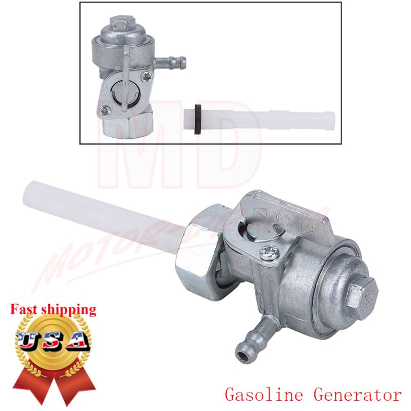 Details about New Shut Off Valve Gas Fuel Tank Pump Petcock Switch Gasoline  Generator Honda US