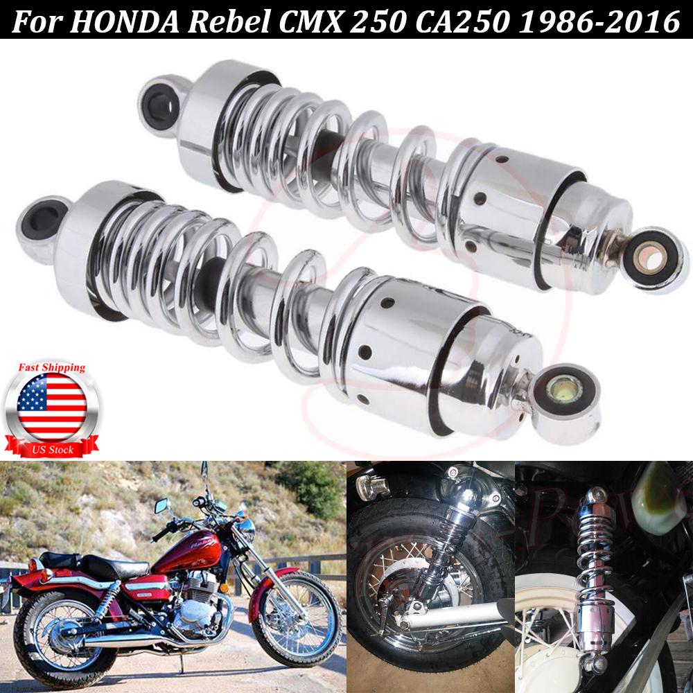Left Right Rear Shock Absorber Suspension For Honda REBEL CA250 CMX250 CMX250C