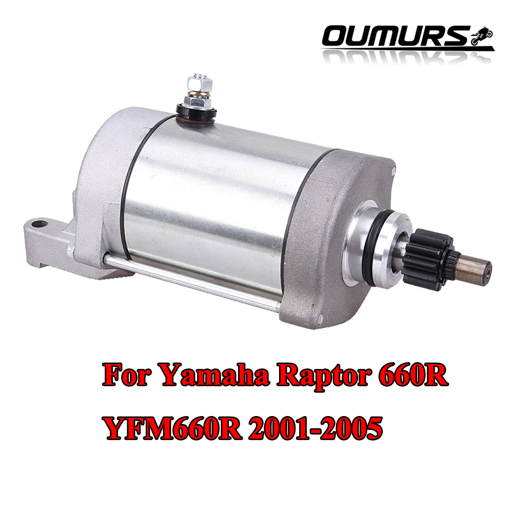 Starter Motor For 2001-2006 2002 2003 2004 2005 Yamaha  Raptor 660 YFM660