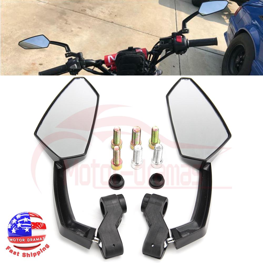 Auto Parts & Accessories For Honda Suzuki Yamaha Kawasaki Motorcycle CNC 8mm 10mm Rearview Side Mirrors