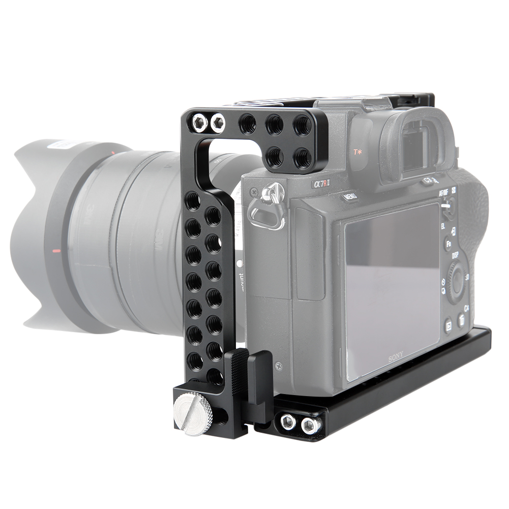 Niceyrig Camera Cage Kit With Hdmi Cable Lock Arri For Sony A7 A7s L Plate Bracket Kamera Alpha A7r Specification New