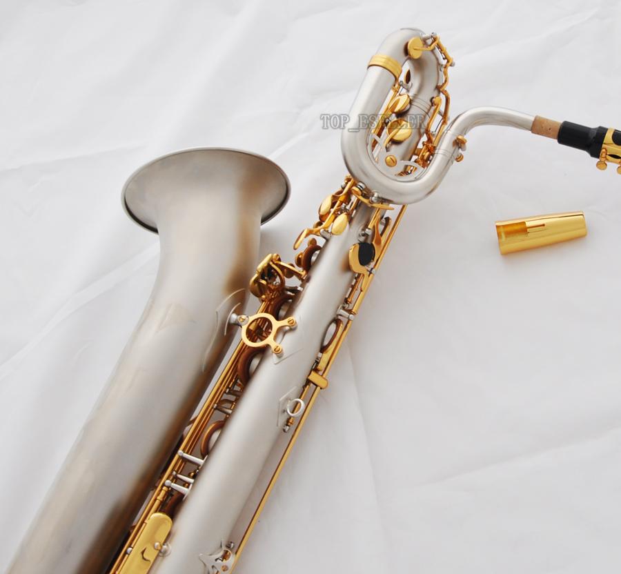 Prof TAISHAN Gold Lacq Eb Baritone Saxophone TSBS-680 low