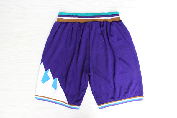 Utah-Jazz-Throwback-Basketball-Stitched-Shorts-White-Purple