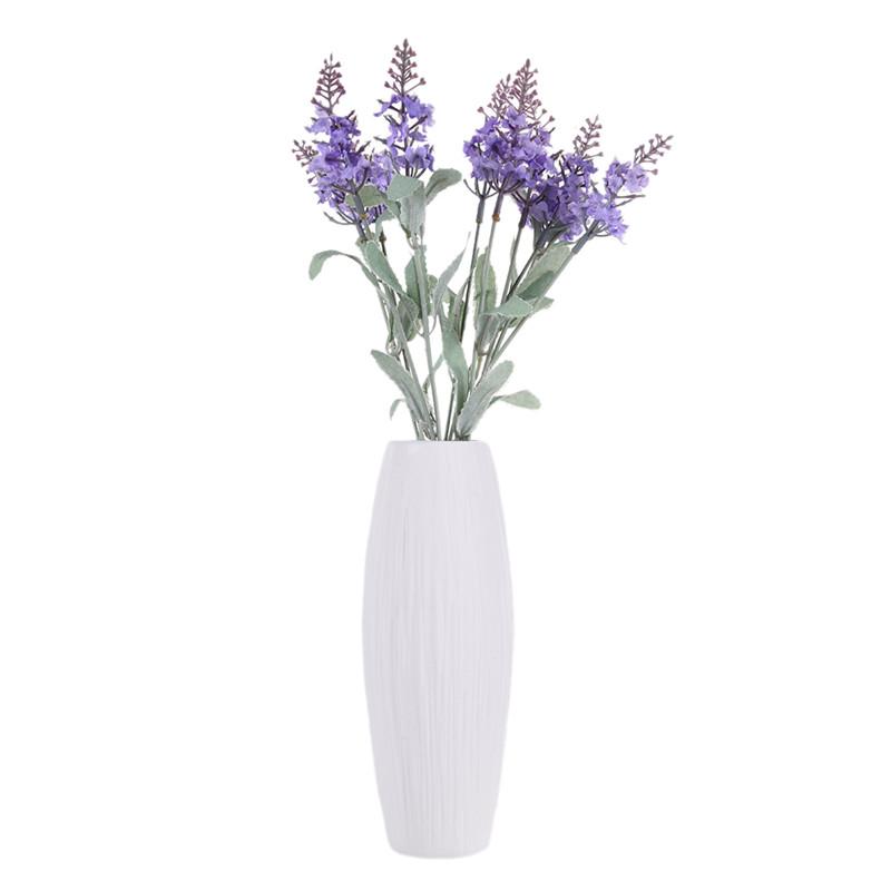 Modern White Porcelain Art Vase European Simple Ceramic