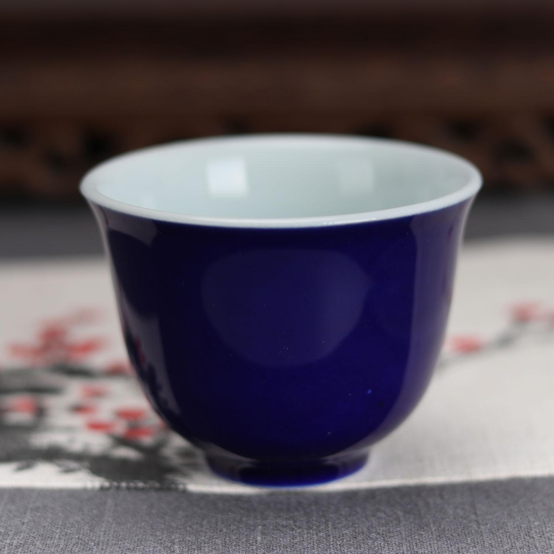 China antique Porcelain Qing guangxu pink glaze gongfu tea cup