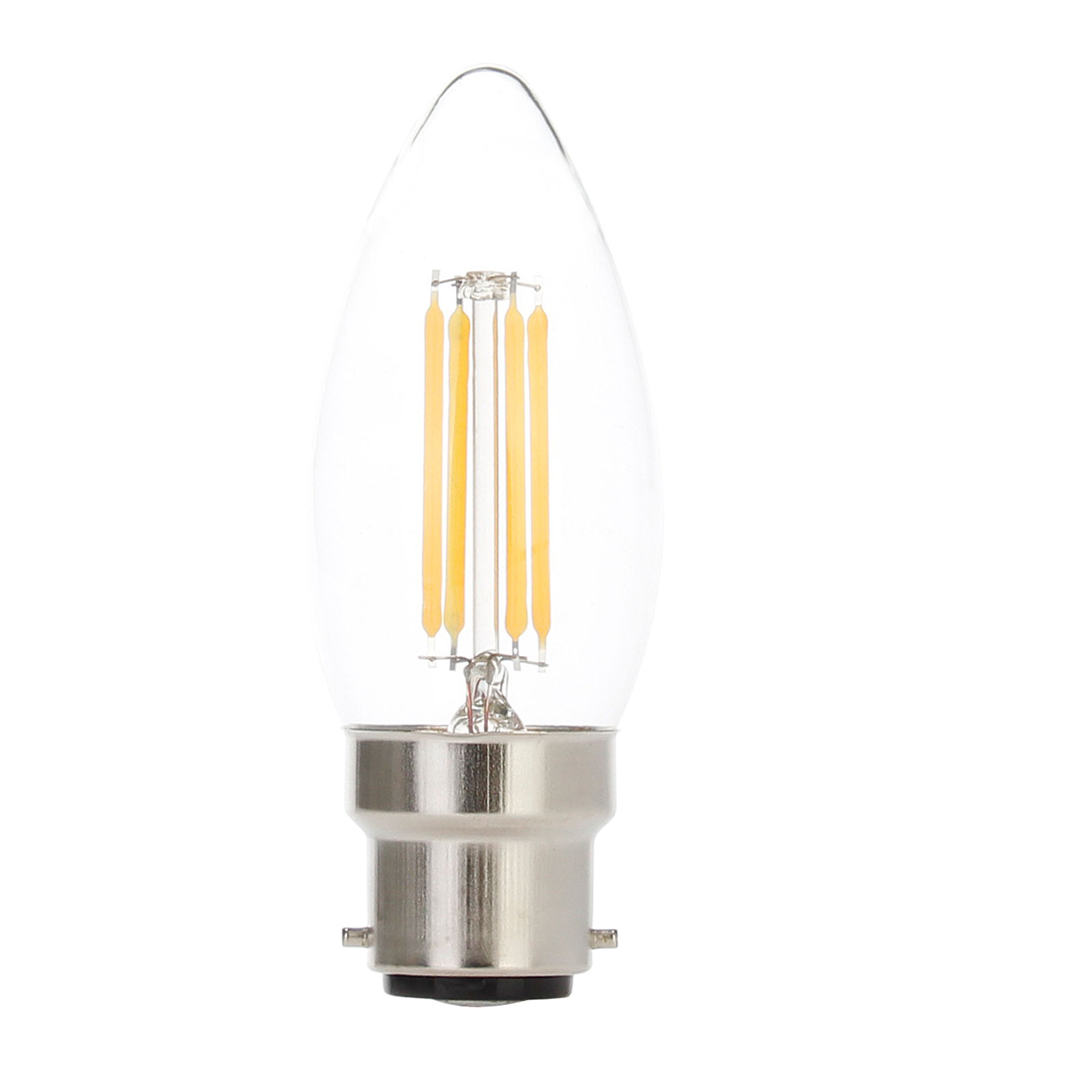 DEL Filament Edison Ampoules E27 B22 E14 Lampe ST64 Tip Bougie Globe Flamme Lampe