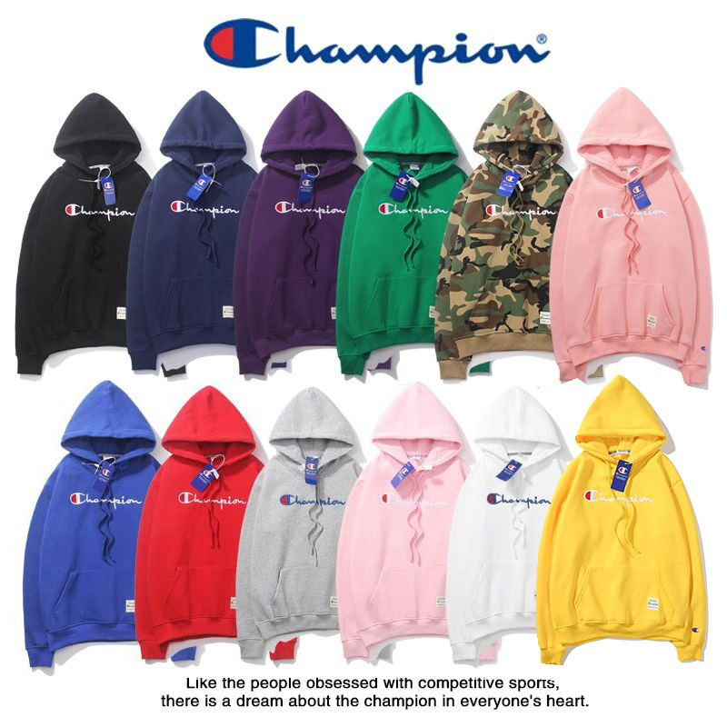 Details zu Champion Hoodie Sweatshirt Hoody Outdoor Pulli Sweater Kapuzenpullover Jacke
